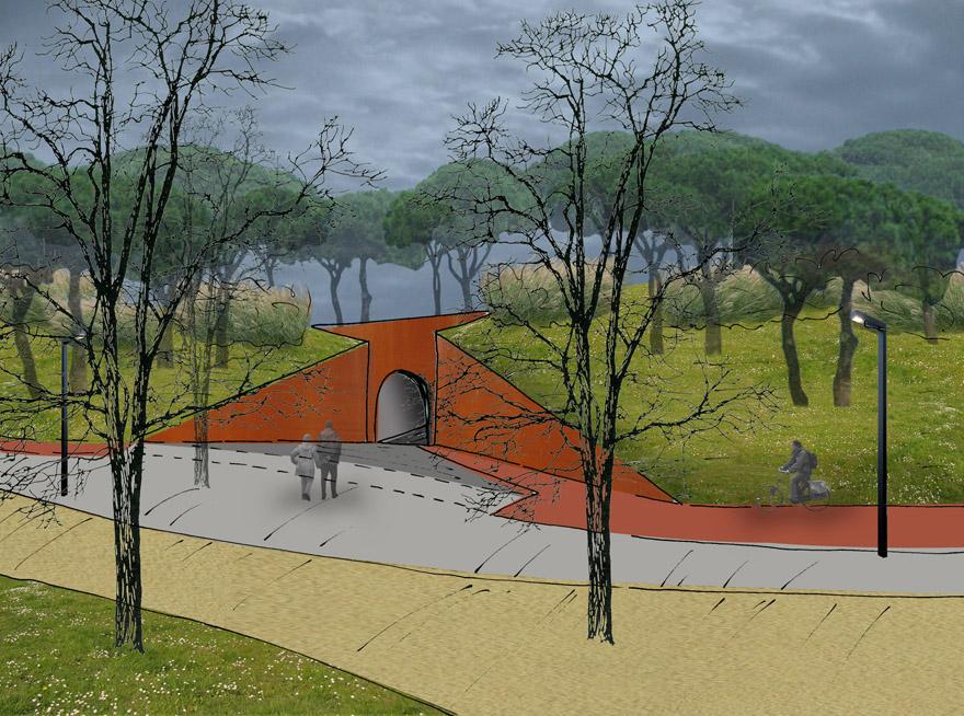 Parque urbano Irun